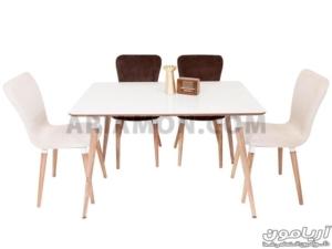 میز ناهار خوری گوشه گرد
