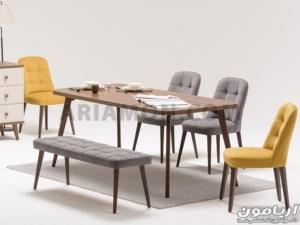 میز ناهار خوری MDF مدرن