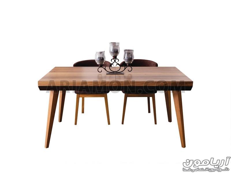 میز ناهار خوری مدرن سیاه