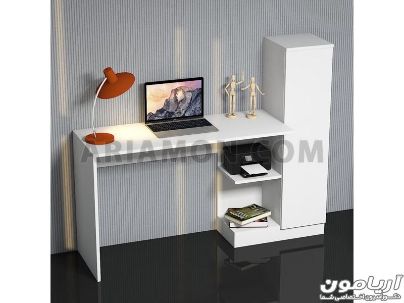 میز کامپیوتر کمد دار