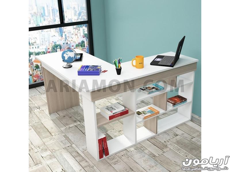 میز مطالعه ساده
