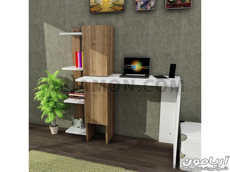 میز کامپیوتر مدرن و ساده